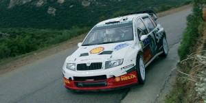 Jan Kopecký / Filip Schovánek, ŠKODA FABIA WRC, ŠKODA Motorsport. Tour de Corse - Rallye de France 2005