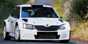 Iván Ares, ŠKODA FABIA R5, AR Vidal Racing, Rally Princesa de Asturias - Ciudad de Oviedo 2016, pre-event test. (Photo: Ares 3 Racing)