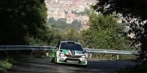 Umberto Scandola / Guido D'Amore, ŠKODA FABIA R5, Car Racing. Rally di Roma Capitale 2016