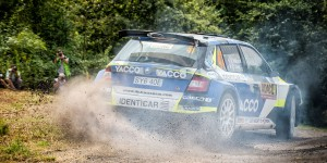 Julien Maurin / Olivier Ural, ŠKODA FABIA R5. ADAC Rallye Deutschland 2016