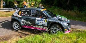 Vojtěch Štajf / František Rajnoha, ŠKODA FABIA R5, Klokočka ŠKODA Czech national team. Rally Bohemia 2016