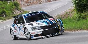 János Puskádi / Barnabás Gódor, ŠKODA FABIA R5, Eurosol Racing Team Hungary. Rally Opatija 2016