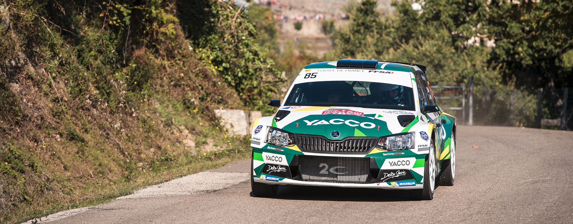 PHOTO: ŠKODA Customer Teams at the Tour de Corse 2016