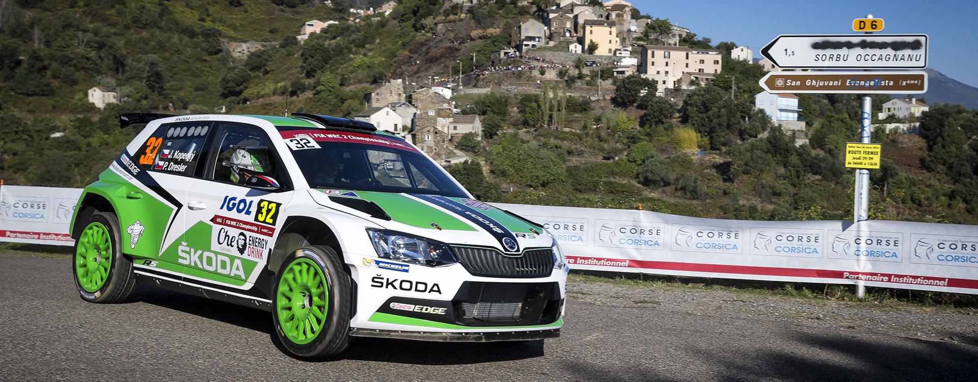 PHOTO: ŠKODA Motorsport at the Rallye de France – Tour de Corse 2016