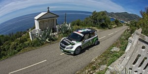 Jan Kopecký / Pavel Dresler, ŠKODA FABIA S2000, ŠKODA Motorsport. Tour de Corse - Rallye de France 2012