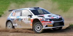 Kalle Rovanperä / Risto Pietiläinen, ŠKODA FABIA R5, TGS Worldwide. Rally Liepaja 2016