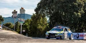 Julien Maurin / Gilles Thimonier, ŠKODA FABIA R5, Julien Maurin. Rallye de France - Tour de Corse 2016