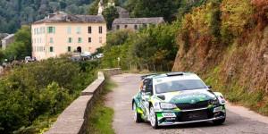 Sylvain Michel / Jérôme Degout, ŠKODA FABIA R5, Equipe de France FFSA. Rallye de France - Tour de Corse 2016