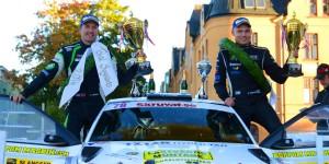 Pontus Tidemand / Jonas Andersson, ŠKODA FABIA R5. Rally Uppsala 2016. Photo: Johannes Ericsson/emotorsport.se