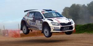 Ralfs Sirmacis / Arturs Šimins, ŠKODA FABIA R5, Sports Racing Technologies. Rally Liepaja 2016