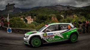 Jan Kopecký / Pavel Dresler, ŠKODA FABIA R5, ŠKODA Motorsport. Rallye de France - Tour de Corse 2016