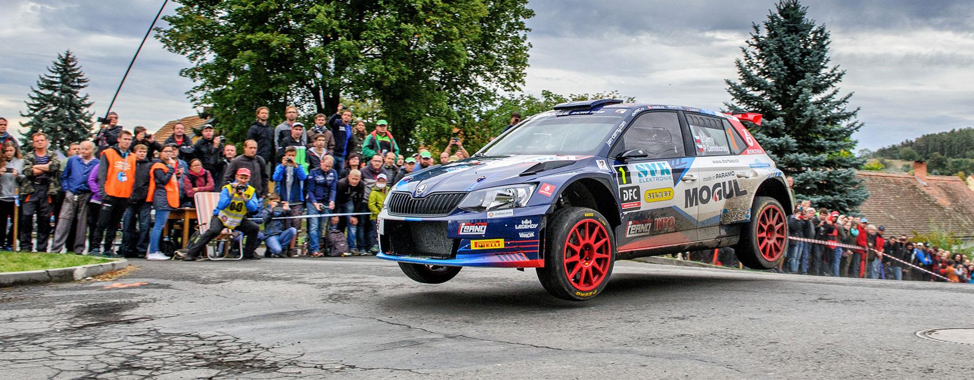 PHOTO: ŠKODA Customer Teams at the Rally Příbram
