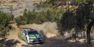 Esapekka Lappi / Janne Ferm, ŠKODA FABIA R5, ŠKODA Motorsport. RallyRACC Catalunya - Costa Daurada 2015