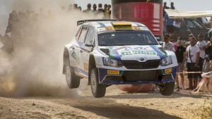 Marijan Griebel / Pirmin Winklhofer, ŠKODA FABIA R5, Marijan Griebel. CNP Asfalistiki Cyprus Rally 2016
