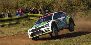 Pontus Tidemand / Jonas Andersson, ŠKODA FABIA R5, ŠKODA Motorsport. RallyRACC Catalunya - Costa Daurada 2015