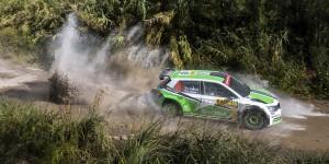 Jan Kopecký / Pavel Dresler, ŠKODA FABIA R5, ŠKODA Motorsport. RallyRACC Catalunya - Costa Daurada 2015