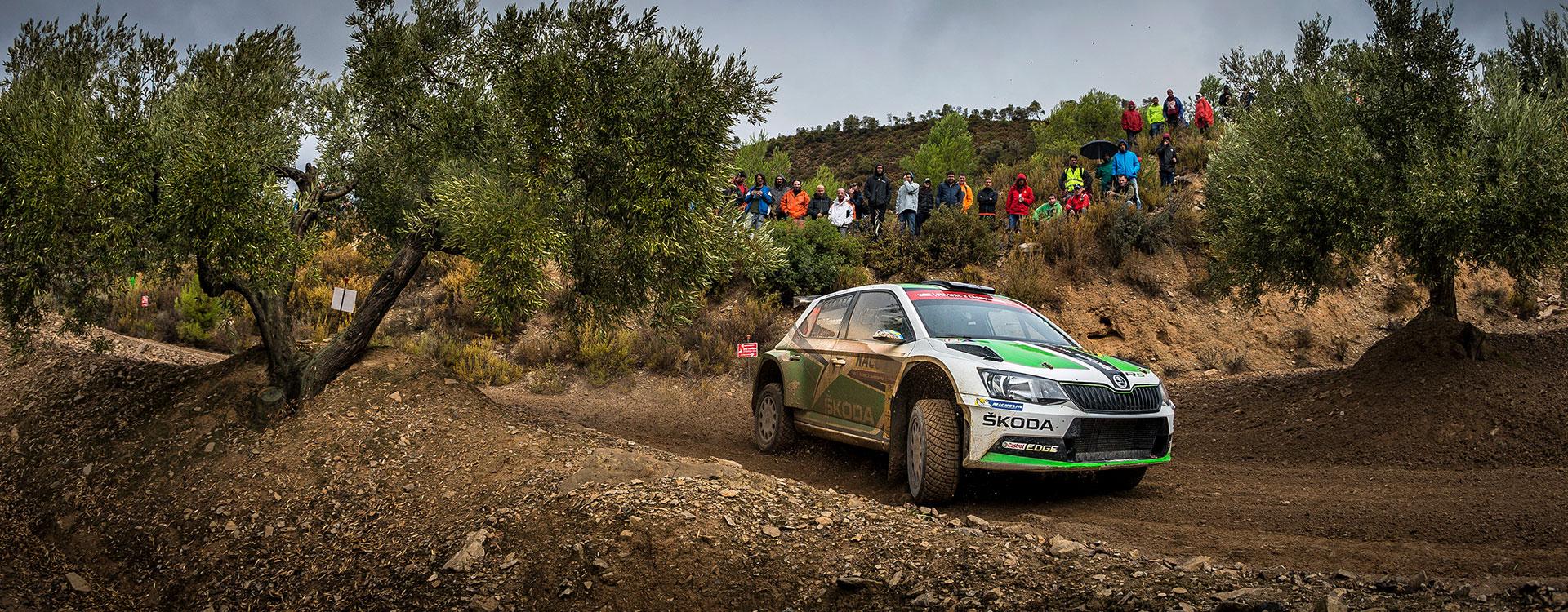 WRC Spain: Tidemand leads Kopecký after the Leg One
