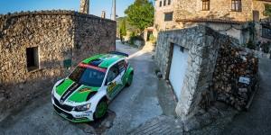 Pontus Tidemand / Jonas Andersson, ŠKODA FABIA R5, ŠKODA Motorsport. RallyRACC Catalunya - Costa Daurada 2016