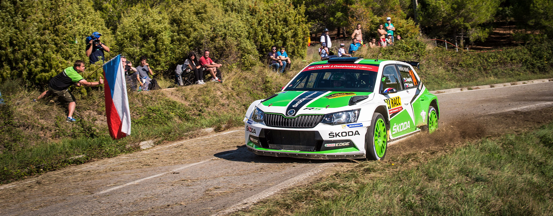 WRC Spain: Jan Kopecký takes the top position