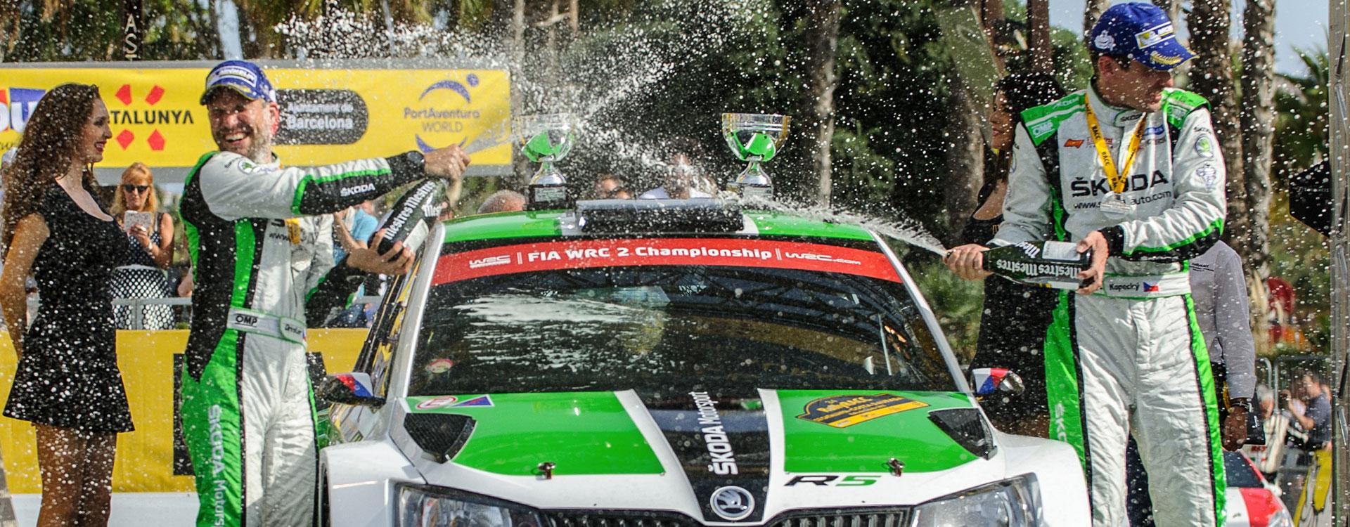 WRC Spain: ŠKODA Motorsport repeats 2015 one-two victory