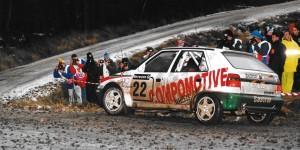 Bernard Munster / Jean-François Elst, ŠKODA FELICIA Kit Car, ŠKODA Motorsport. Network Q RAC Rally 1996