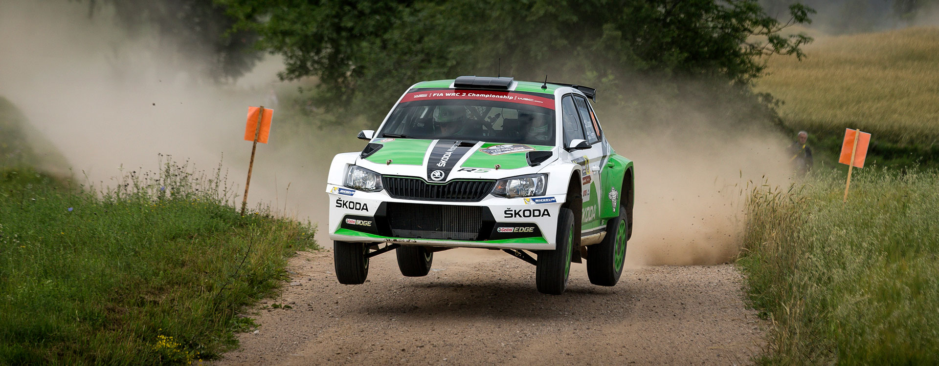 WRC Great Britain: Three ŠKODA drivers set sights on the title