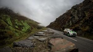 Pontus Tidemand / Jonas Andersson, ŠKODA FABIA R5, ŠKODA Motorsport II. Dayinsure Wales Rally GB 2016