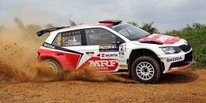 Fabian Kreim / Frank Christian, ŠKODA FABIA R5, Team MRF. International Rally of Whangarei 2016
