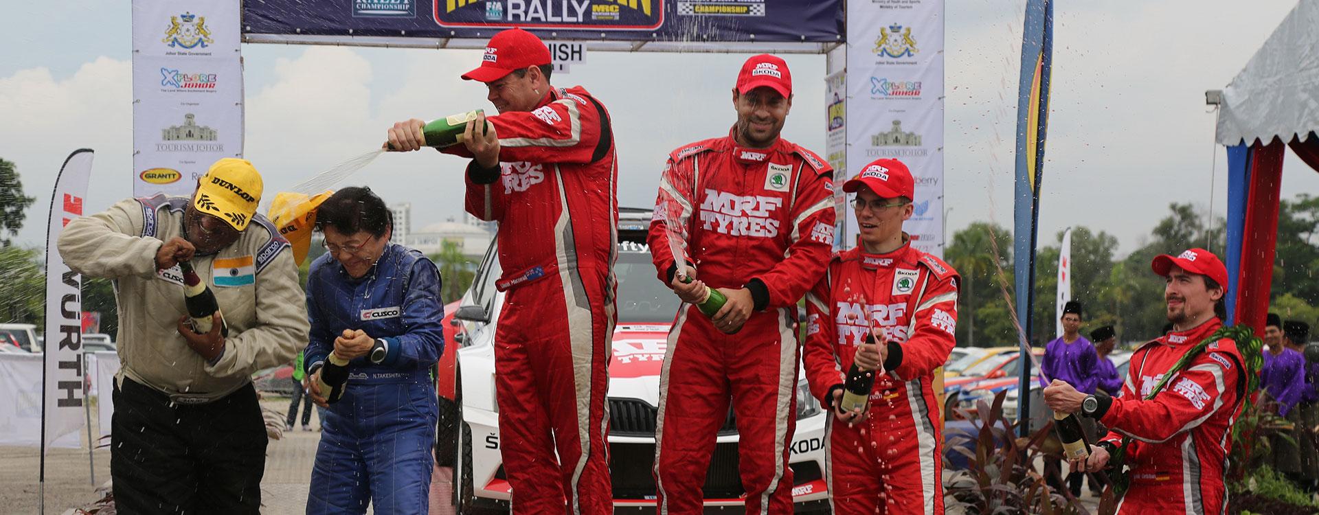 APRC: Gill wins championship. ŠKODA celebrates its fifth consecutive title