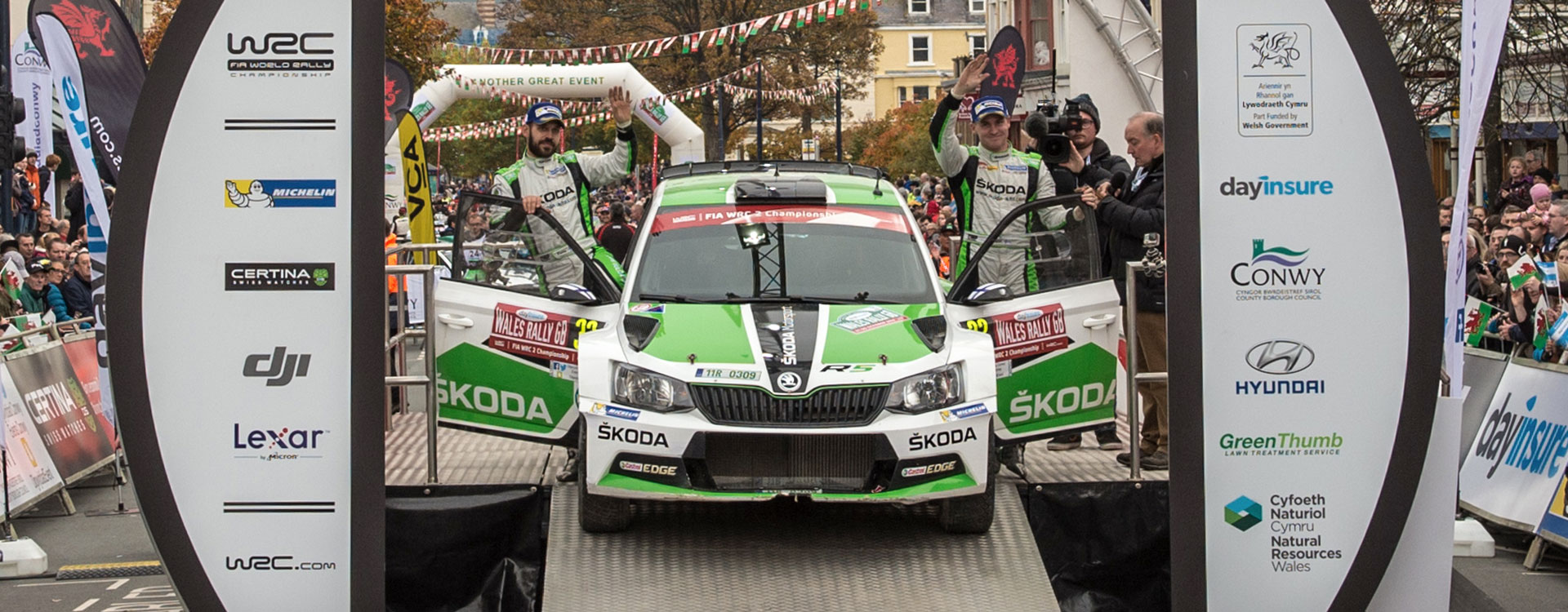 WRC Great Britain: Lappi wins the rally and remains in the WRC2 title race