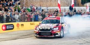 Nasser Al-Attiyah / Matthieu Baumel, ŠKODA FABIA R5. RallyRACC Catalunya - Costa Daurada 2015