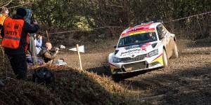Eyvind Brynildsen / Anders Fredriksson, ŠKODA FABIA R5, Motorsport Italia. Wales Rally GB 2015