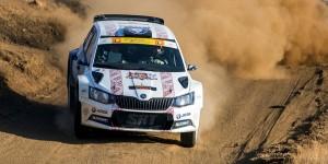 Ralfs Sirmacis / Arturs Šimins, ŠKODA FABIA R5, Sports Racing Technologies. CNP Asfalistiki Cyprus Rally 2016