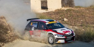 Nikolay Gryazin / Yaroslav Fedorov, ŠKODA FABIA R5, Sports Racing Technologies. CNP Asfalistiki Cyprus Rally 2016