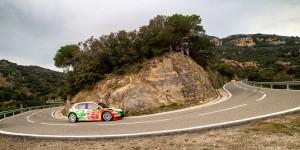 Armin Kremer / Pirmin Winklhofer, ŠKODA FABIA R5, BRR Baumschlager Rallye & Racing Team. RallyRACC Catalunya - Costa Daurada 2015
