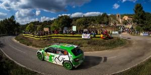 Ole Christian Veiby / Stig Rune Skjærmoen, ŠKODA FABIA R5, Printsport Oy. RallyRACC Catalunya - Costa Daurada 2016