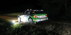 Fabian Kreim / Frank Christian, ŠKODA FABIA R5, ŠKODA AUTO Deutschland. ADAC 3-Städte-Rallye 2016