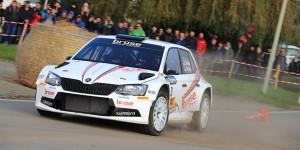 Dominik Dinkel / Christina Kohl, ŠKODA FABIA R5, Brose Motorsport. ADAC 3-Städte-Rallye 2016