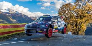 Jan Černý / Petr Černohorský jun., ŠKODA FABIA R5, Mogul Czech National Team. Rallye International du Valais 2016