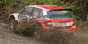 Gaurav Gill / Stéphane Prévot, ŠKODA FABIA R5, Team MRF. Rally Hokkaido APRC 2016