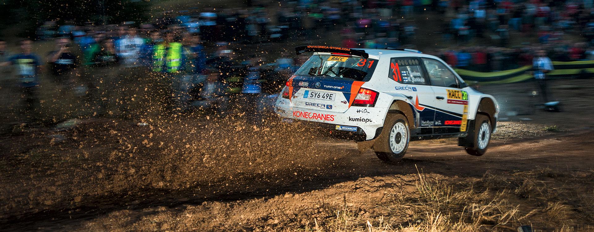 PHOTO: ŠKODA Customer Teams at the RallyRACC Catalunya – Costa Daurada 2016