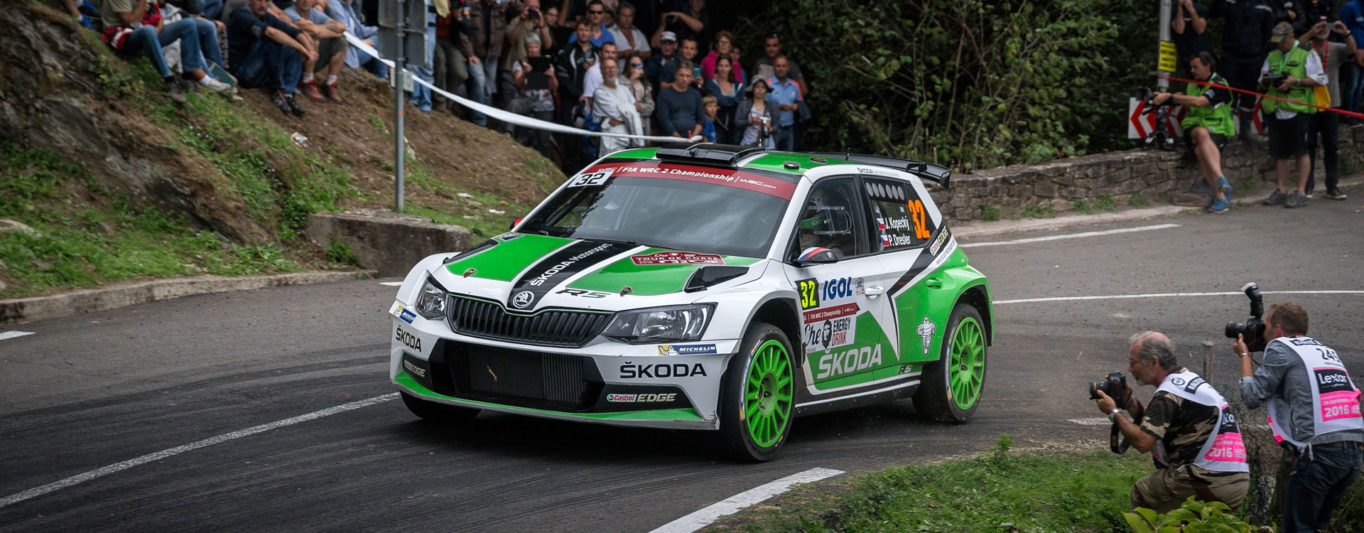 VIDEO: ŠKODA Motorsport at the Tour de Corse 2016