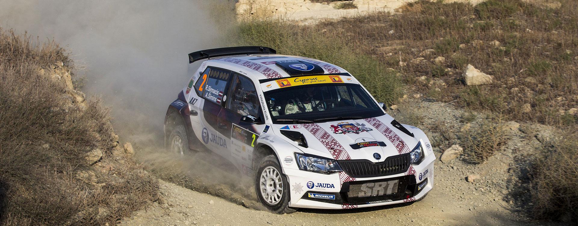 PHOTO: ŠKODA Customer Teams at the Cyprus Rally 2016