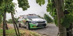 Max Rendina / Emanuele Inglesi, ŠKODA FABIA R5, Motorsport Italia. ADAC Rallye Deutschland 2016