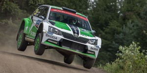 Esapekka Lappi / Janne Ferm, ŠKODA FABIA R5, ŠKODA Motorsport. Neste Rally Finland 2016