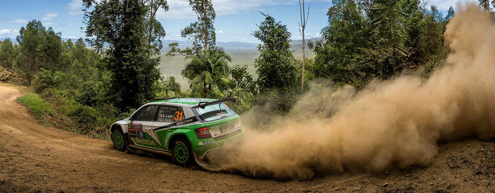 FOTO: Vozy ŠKODA na Australské rally 2016