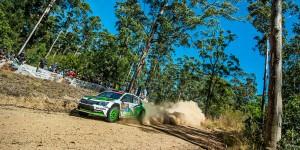 Esapekka Lappi / Janne Ferm, ŠKODA FABIA R5, ŠKODA Motorsport. Kennards Hire Rally Australia 2016