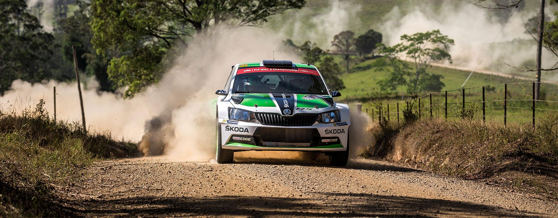 WRC Austrálie: Esapekka Lappi po prvním dnu suverénně vede