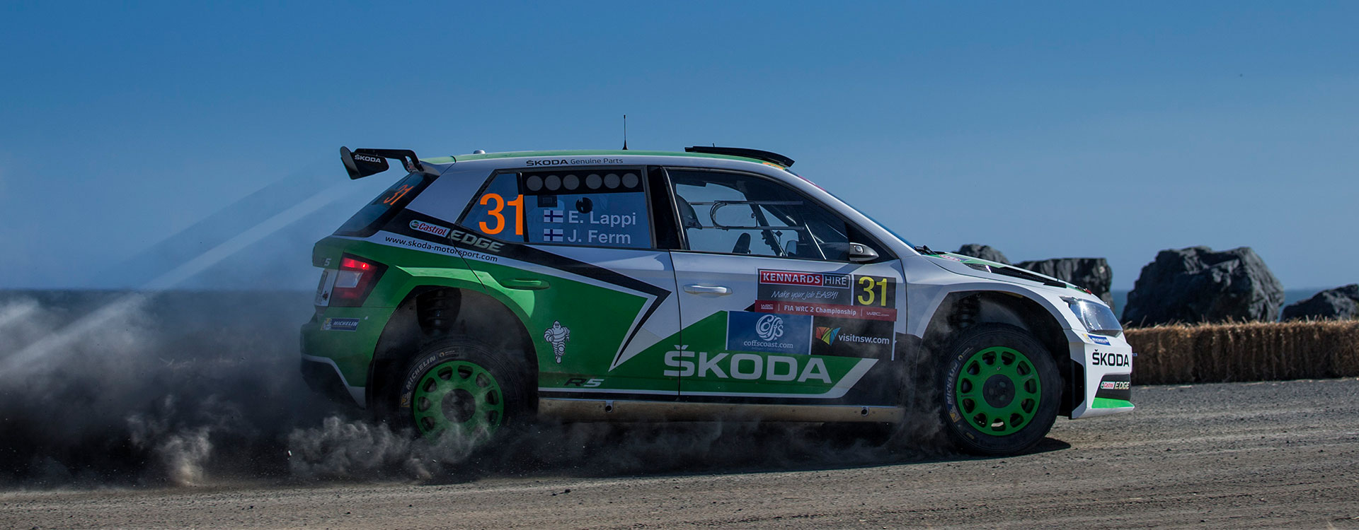 WRC Australia: Cool in the heat. Lappi extends lead