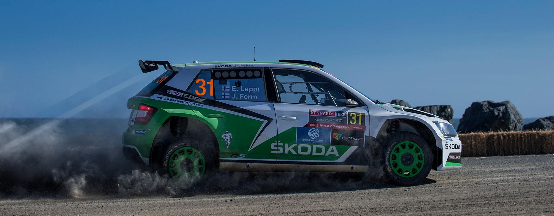 WRC Austrálie: S chladnou hlavou navzdory vedru. Lappi dál zvyšuje vedení